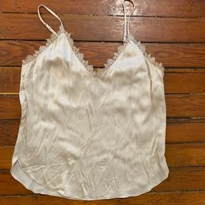 Anthropologie Silk Tank